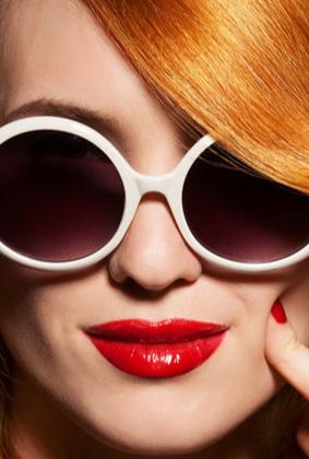 מעצבים את העיניים: משקפי שמש מעוצבות