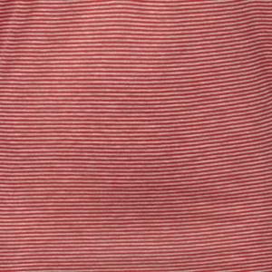 חולצת פסים לשינה - אדומה