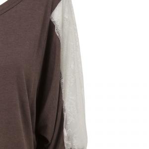 חולצת שרוול תחרה
