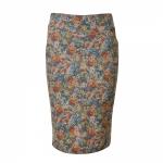 חצאית עפרון פרחונית