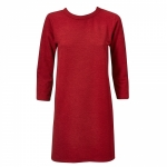 שמלת לונדון שיפט אדומה