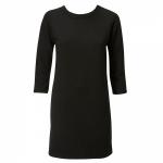 שמלת לונדון שיפט שחורה