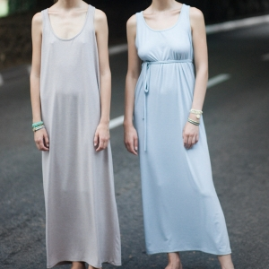 שמלת מקסי בייסיק