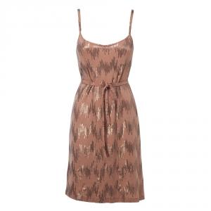 שמלת פאייטים - אפרסק